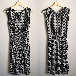 Lauren Ralph Lauren | Black and White Twist Dress